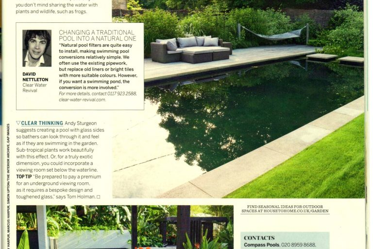 CWR in Homes and Gardens 2014
