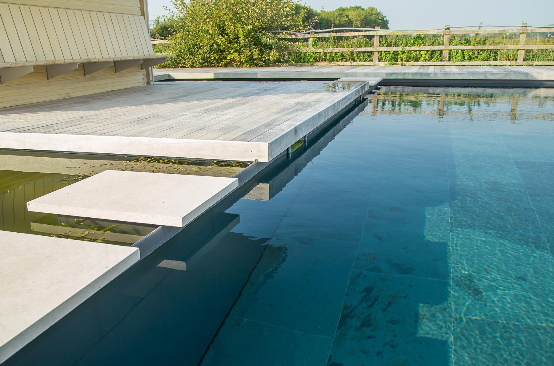 commercial swimming pool design build services clear