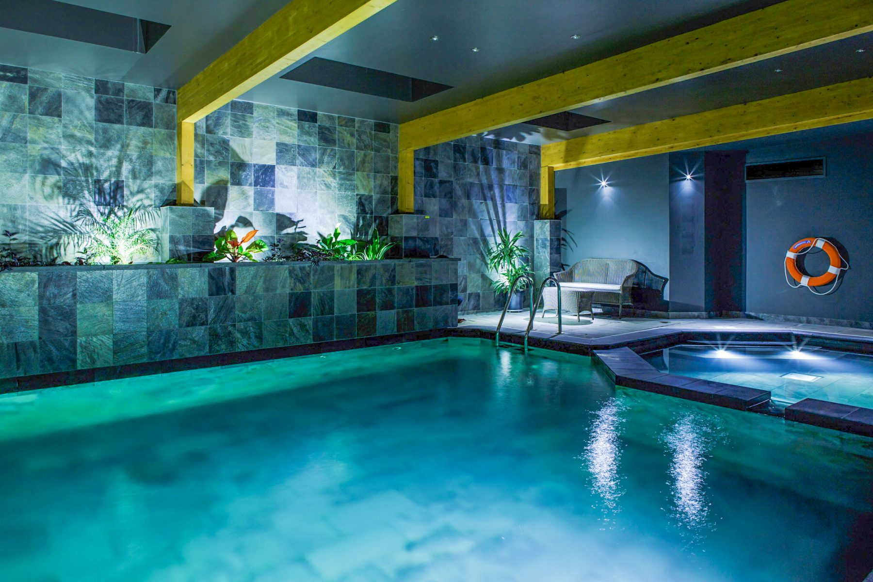 Indoor swimming pools clear water revival natural pools for Indoor swimming pool cost to build