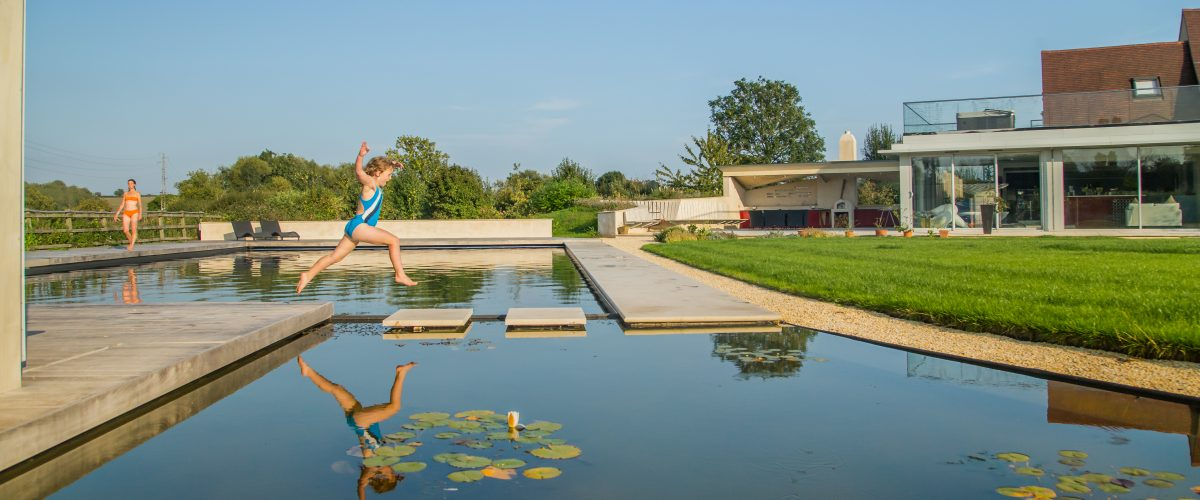 Our outdoor swimming pools will look great in your home