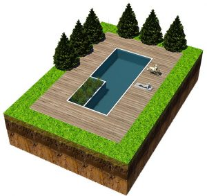 Our outdoor natural swimming pools are stunning