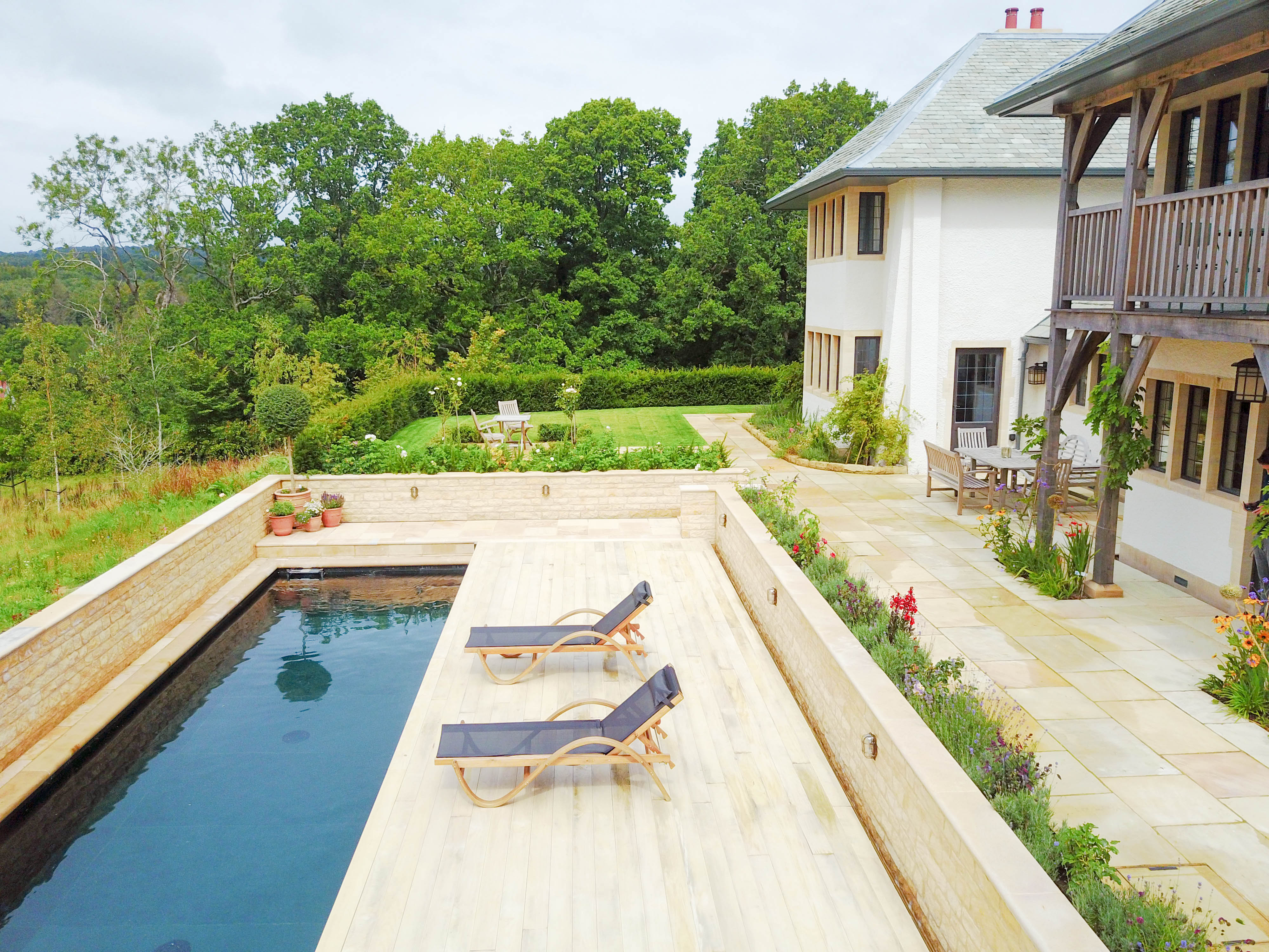 how much does it cost to build a natural pool