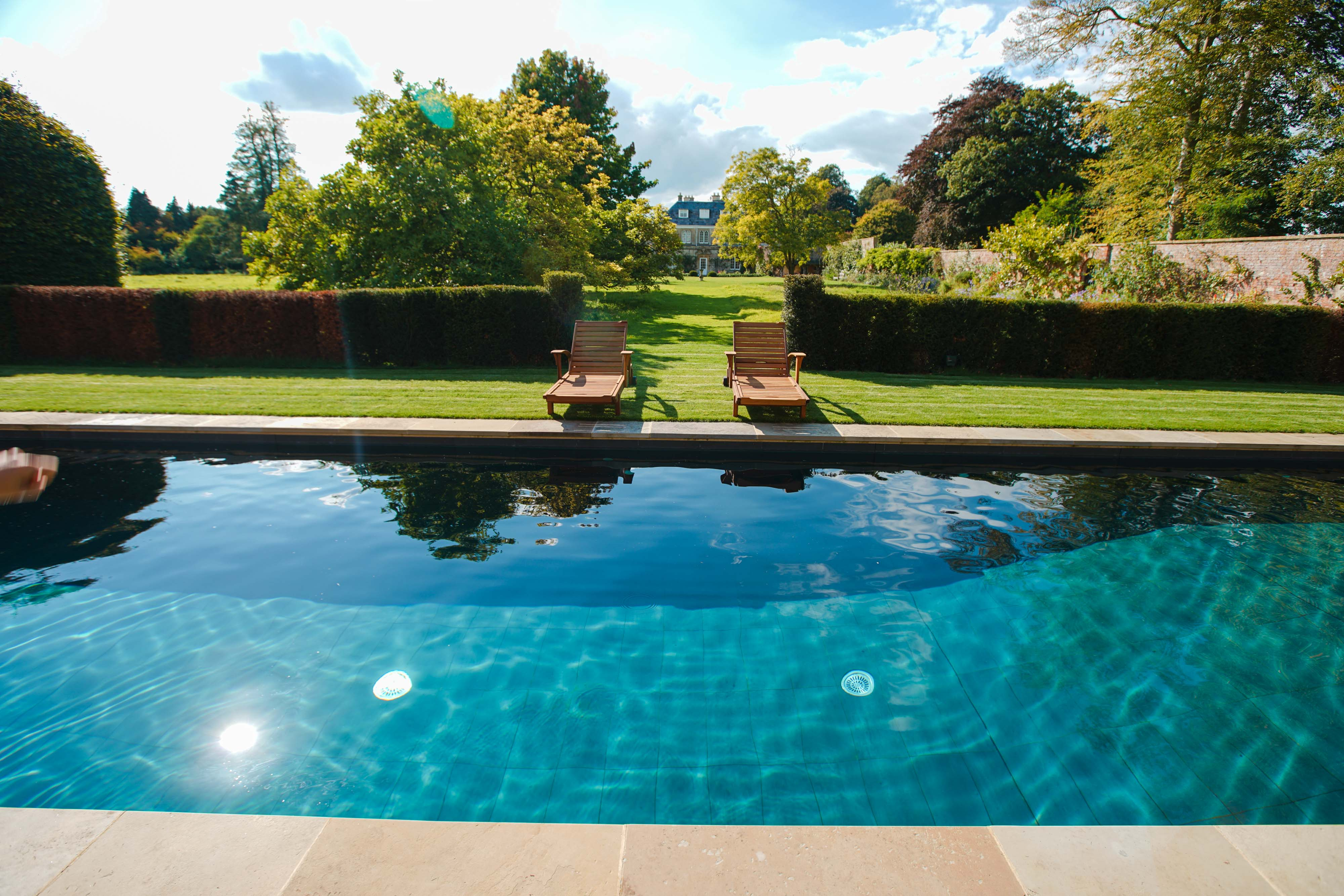Pool gallery clear water revival - How much water in a swimming pool ...