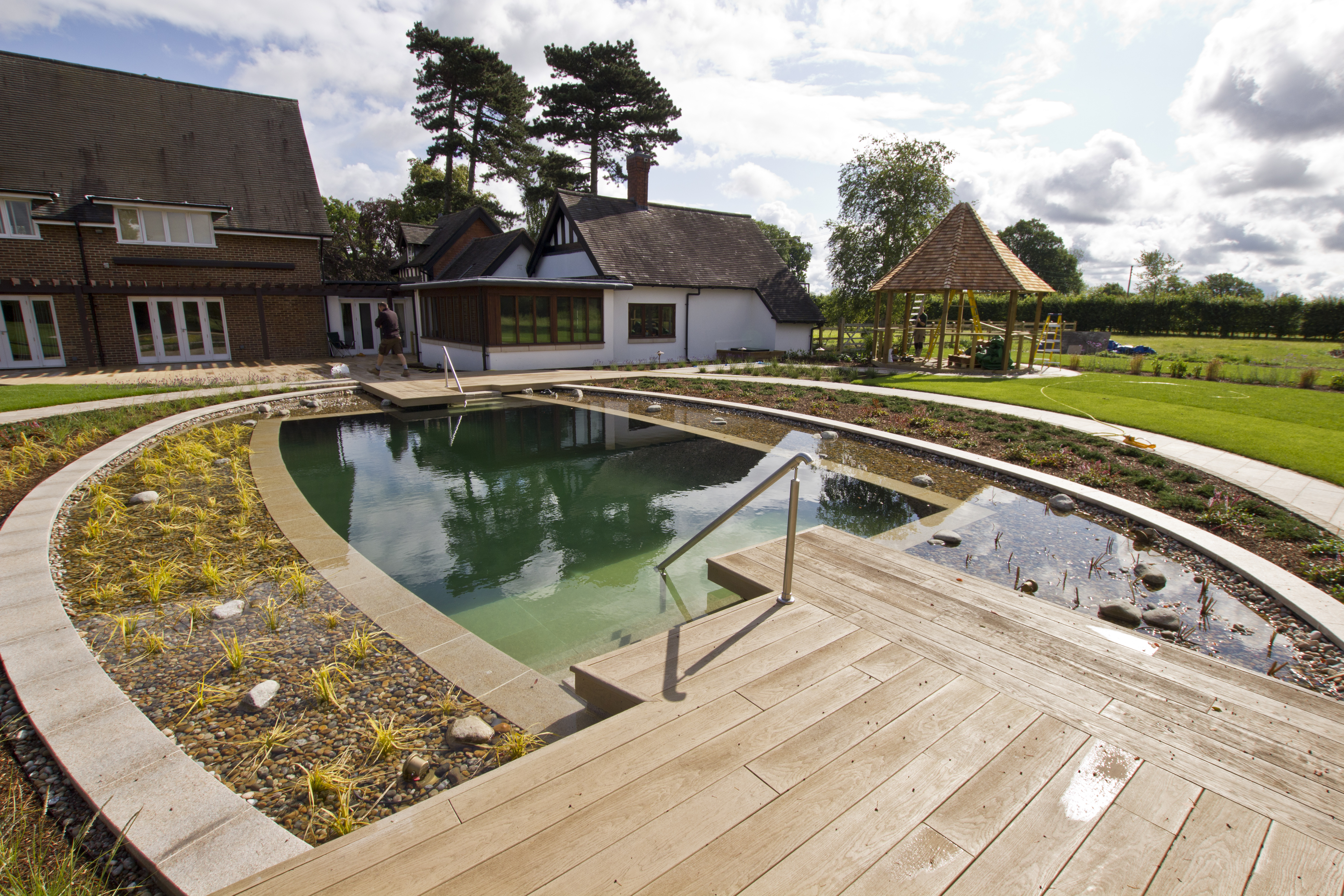 Pool gallery clear water revival for Sustainable swimming pools