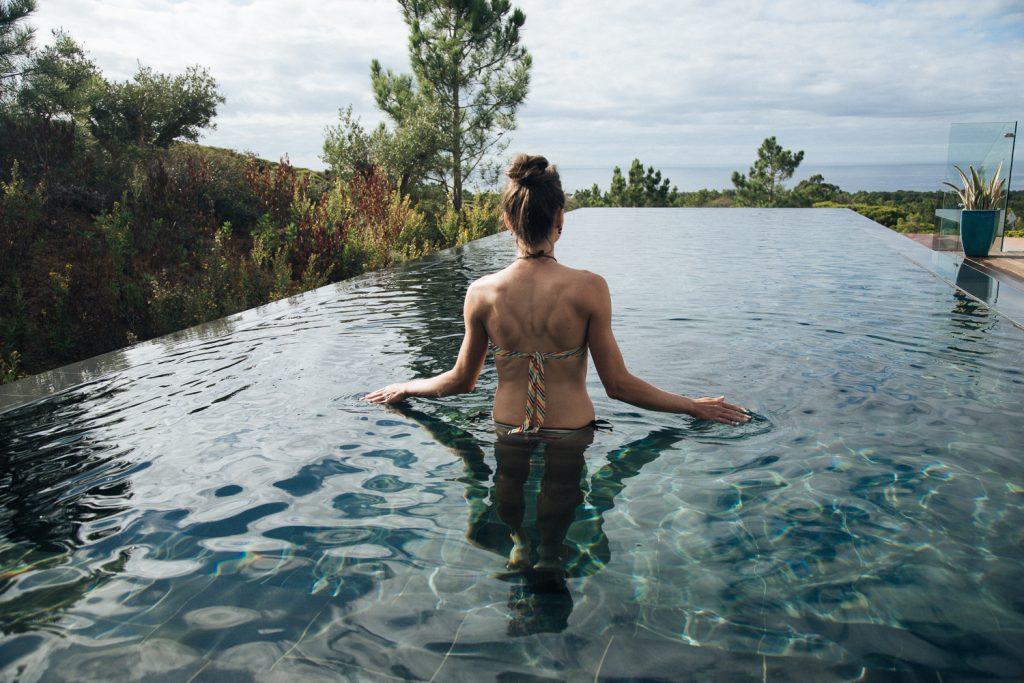 Natural Swimming Pool - Villa Epicurea, Sesimbra, Portugal